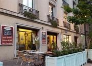Café de la Barra, french style bistro en Santiago.