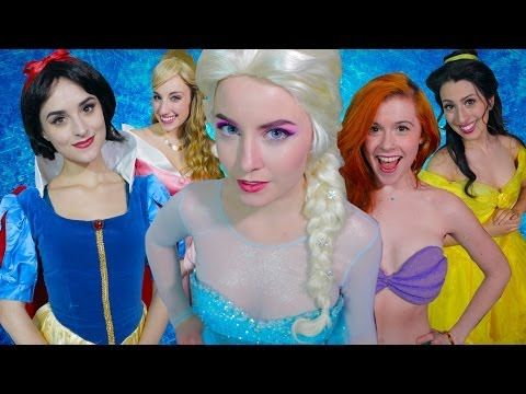 """In a new video by AVbyte , Elsa addresses the issues of Disney relationships. 