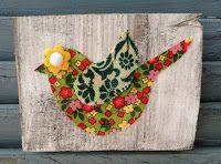 Bouton d'art d'oiseau et Giveaway !!!   Bouton oiseaux Designs