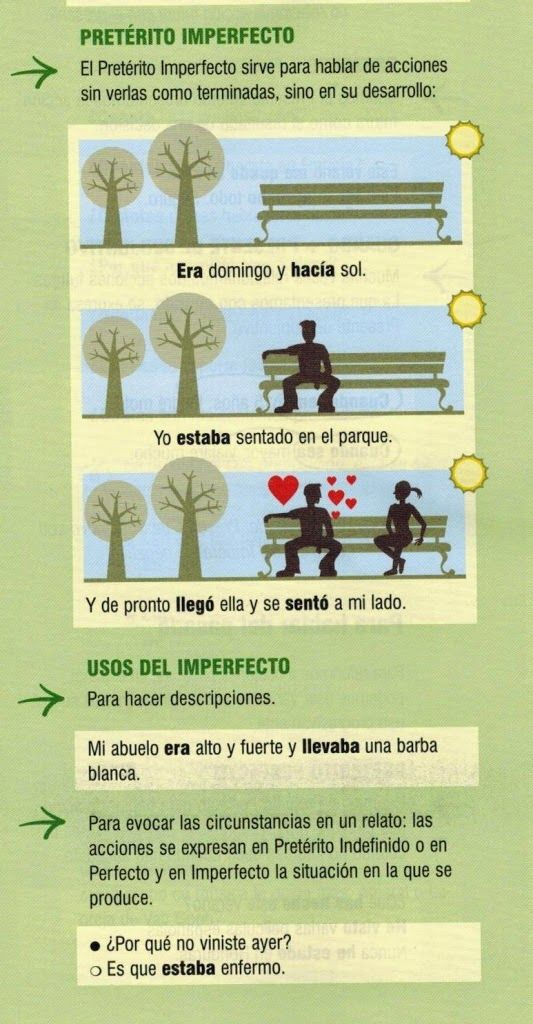 Imperfecto v. Indefinido