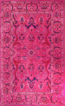 Rugs USA Overdye RE31 Pink Rug. Modern, contemporary, pink, home decor, design, interior design.