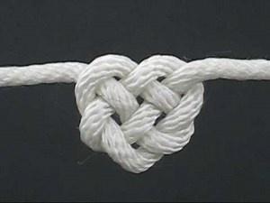 Celtic Knot Heart Craft - Ireland