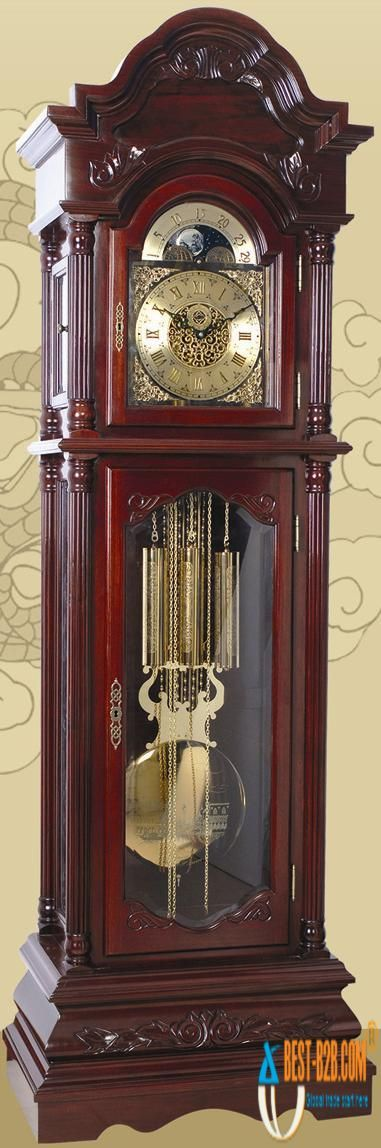 I`m thinking my home could use a couple more grandfather clocks :-)