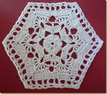 Sterbloem granny square pattern- need to translate