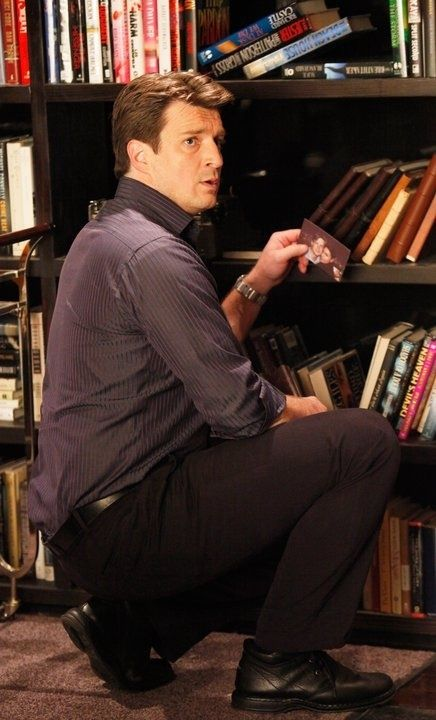 Nathan Fillion as Richard Castle