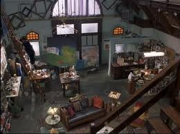 "Refurbished firehouse from ""The Princess Diaries."" LOVE. My dream is to one day live in a refurbished firehouse-turned into my own art studio...."