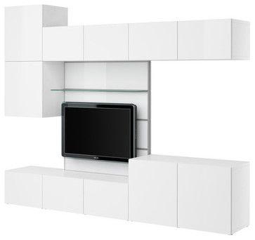 17 best images about ikea besta tv units on pinterest more modern entertainment center tvs. Black Bedroom Furniture Sets. Home Design Ideas