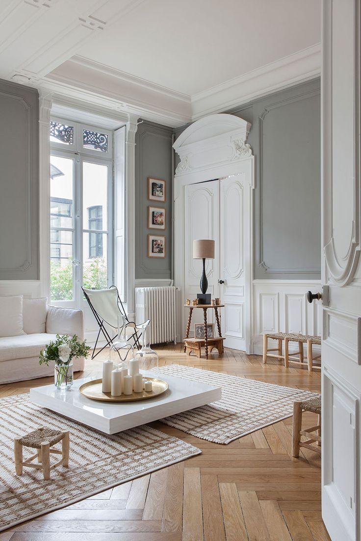 Beautiful French Interiors By Photographer Anne Catherine Scoffoni Arredamento Parigino Arredamento Interni Salotto Idee Per Appartamenti