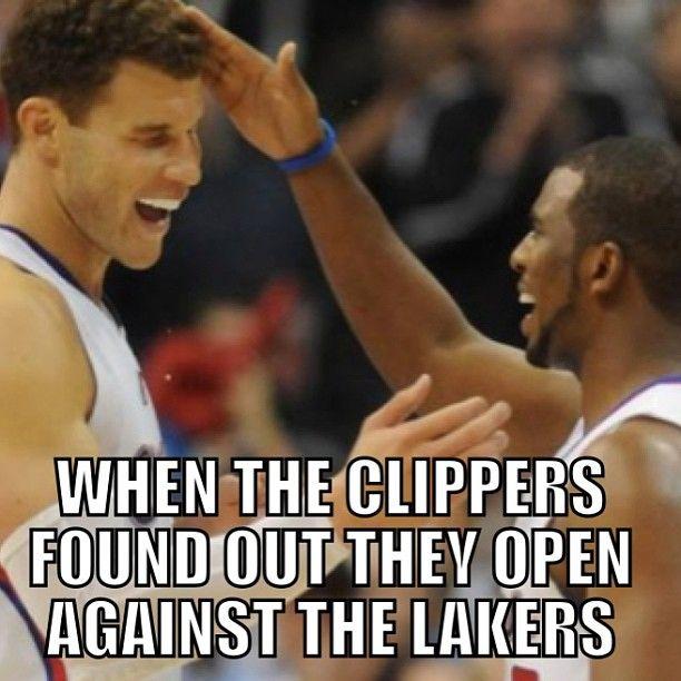 #la #clippers #lakers #losangeles #nba #schedule #basketball #sports #nbamemes #meme #funny #lol