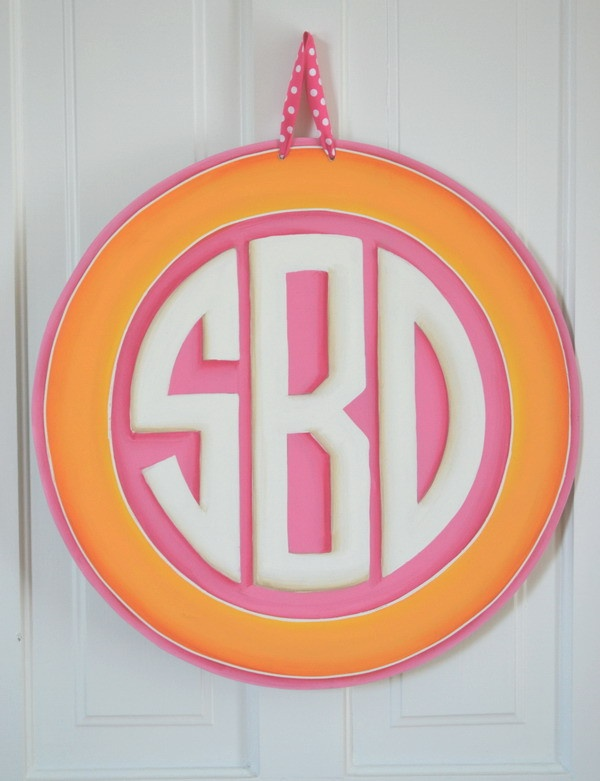Monogrammed Signs!
