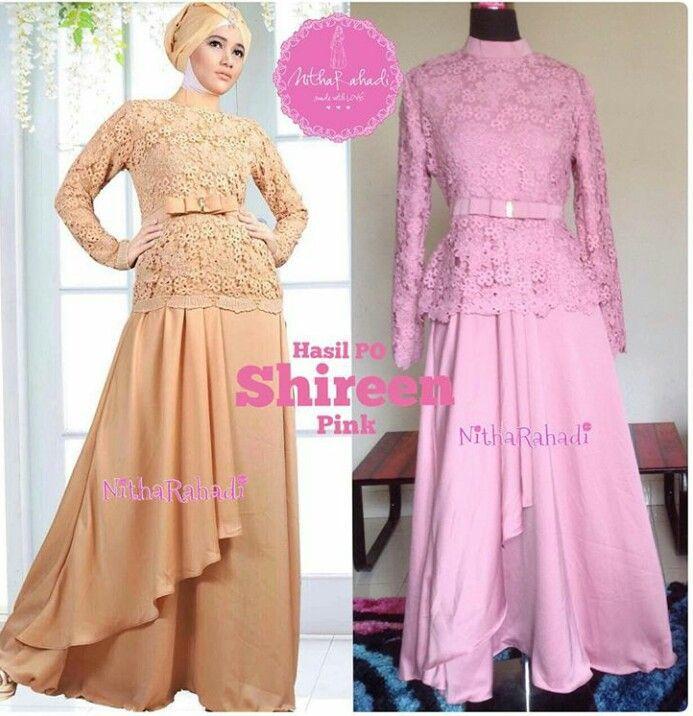 Kebaya Modern dan Baju Pesta Artis Shireen Dress (Made By Order ...