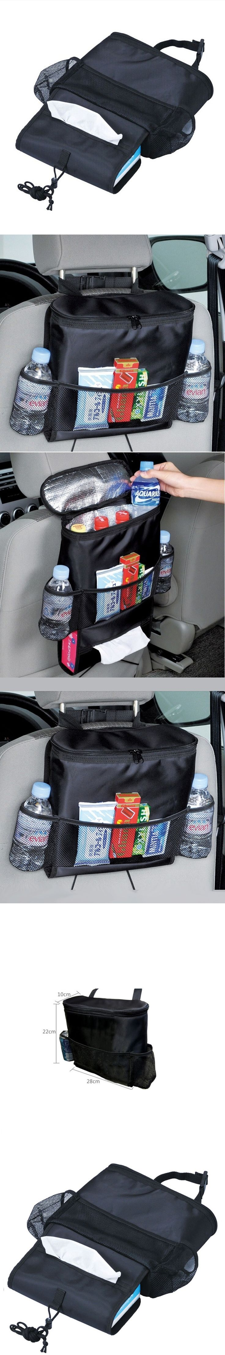 Selling ! New Style Warm Rear Seat Code Holder Car Organizer Bag Baby Kick Mat Tissue Box Cover Travel Bag hanger deck Barro