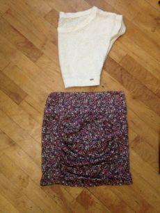 Available @ trendtrunk.com Garage(crop-top)-Costa-Blanca(skirt)-Tops By Garage(crop top) Costa Blanca(skirt) Only $23.75