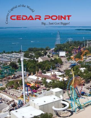 Coaster Capital of the World - Cedar Point in Ohio Sandusky....stayed at Hotel Breakers on lake