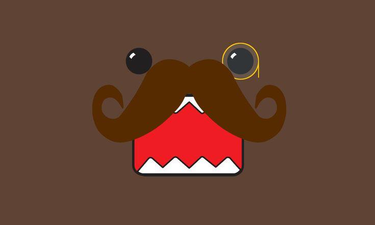 cute moustache wallpaper - Google Search