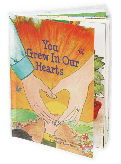 share your adoptive child's story with them via this book that you can personalize with your child's story and with pictures that most resemble that of your child