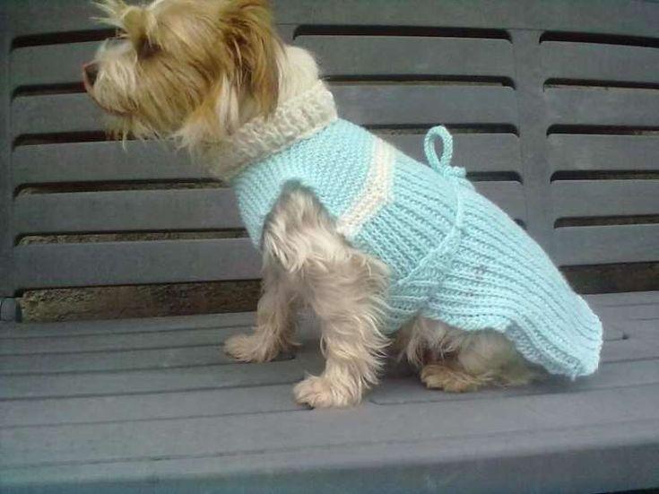 Cappottino per cani ai ferri (Foto 4/39) | Donna