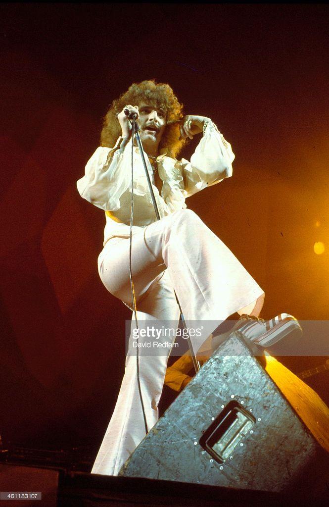 English rock band Uriah Heep on stage, 1970.