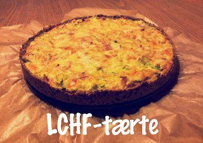 LCHF - Den omvendte verden: LCHF-tærte m. skinke og porre