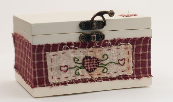 Cutie bijuterii vintage de kokett Breslo