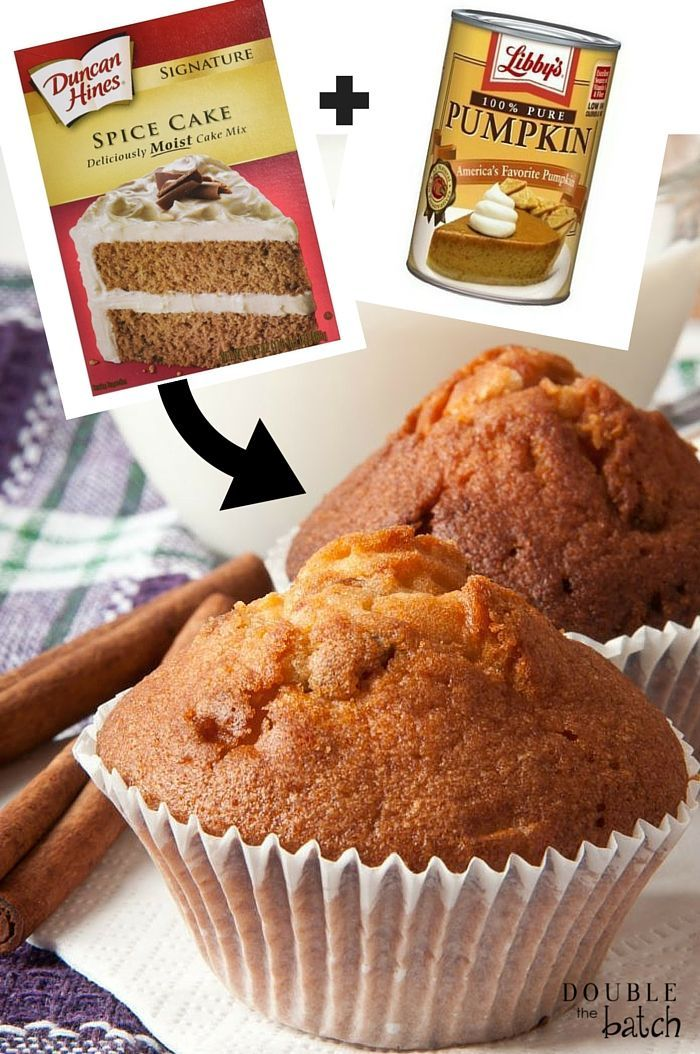 Looking for the easiest pumpkin spice muffins you have ever set eyes on? This 2-ingredient recipe will blow your mind!