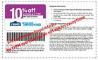 One (1x) Lowes Coupon for Lowes 10% OFF Fast Shipping Printable Everyday 11PM IH - http://oddauctions.net/coupons/one-1x-lowes-coupon-for-lowes-10-off-fast-shipping-printable-everyday-11pm-ih/