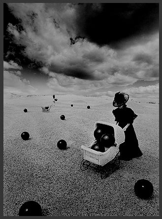 Saturation by Misha Gordin, 14 x 11 in., silver gelatin print http://www.thornwoodgallery.com/