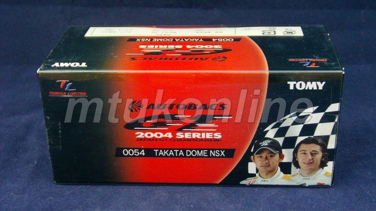 TOMICA TL 54 HONDA TAKATA DOME NSX #18 | 78mm | JGTC 2004 GT500 CLASS