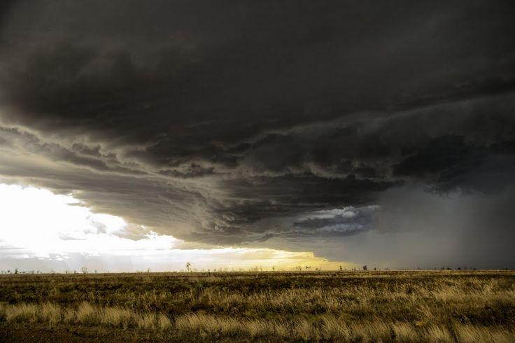 Thunderstorm Over the Chichester Range