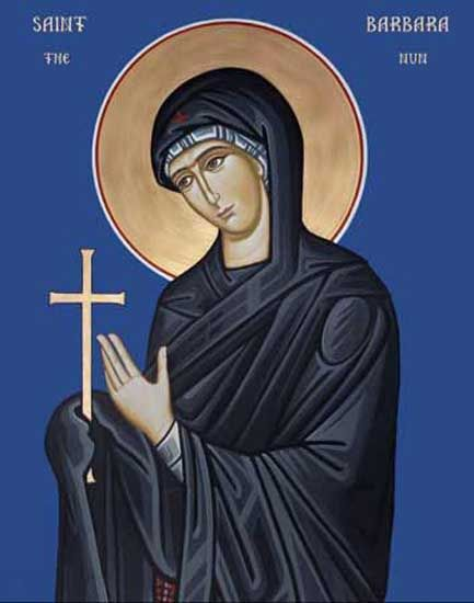 ST. BARBARA, New Martyr of Russia
