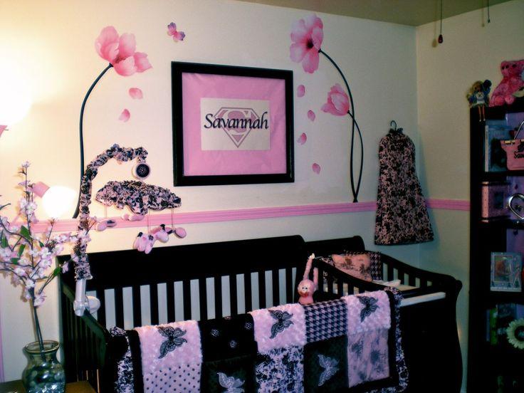 Savannah's Pink Butterfly Nursery The flowers, Pink