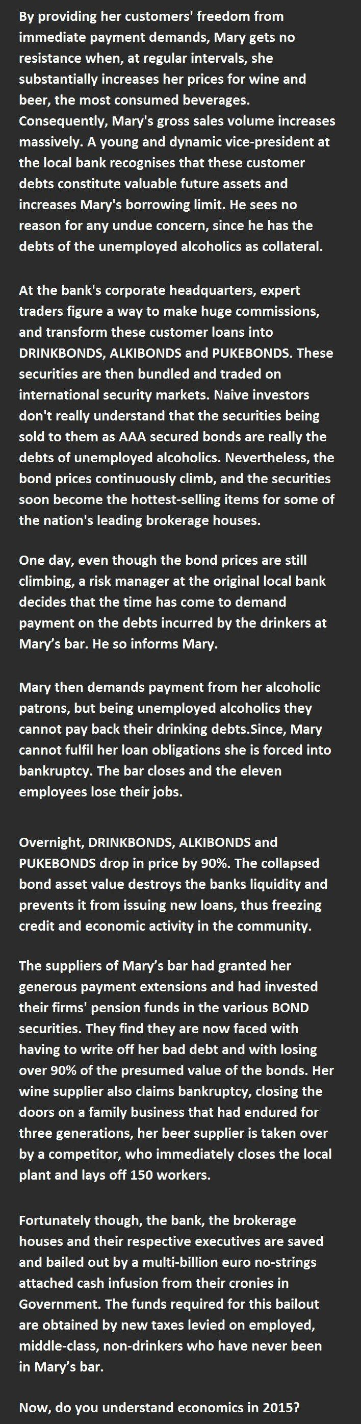 This Woman Just Explained Economics In A Nutshell. And It's So True It Hurts!!!