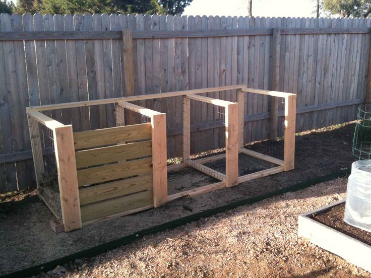 How To Build Compost Bin Out Of Pallets · Greenhouse IdeasFlorida  LandscapingGarden Design ...