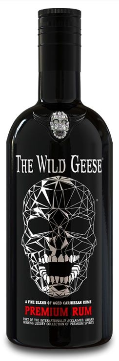 The Wild geese Premium Rum is an intense, bright gold blend of rums, aged for up to eight years, from Barbados, Jamaica and Guyana. Its clean pronounced nose hints at its soft, aged Bajan heritage and honeyed aromatic Guyanese and Jamaican pot still character. - See more at: http://thewildgeesecollection.com/rum/our-rum/premium-rum/#sthash.wkGs0DuY.dpuf