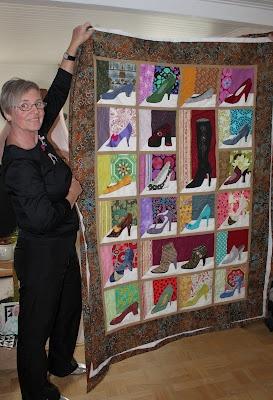 shoe quilt idea for exchange