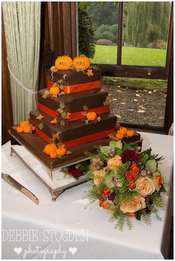 #Halloween #Wedding #Cake chocolate and orange cake
