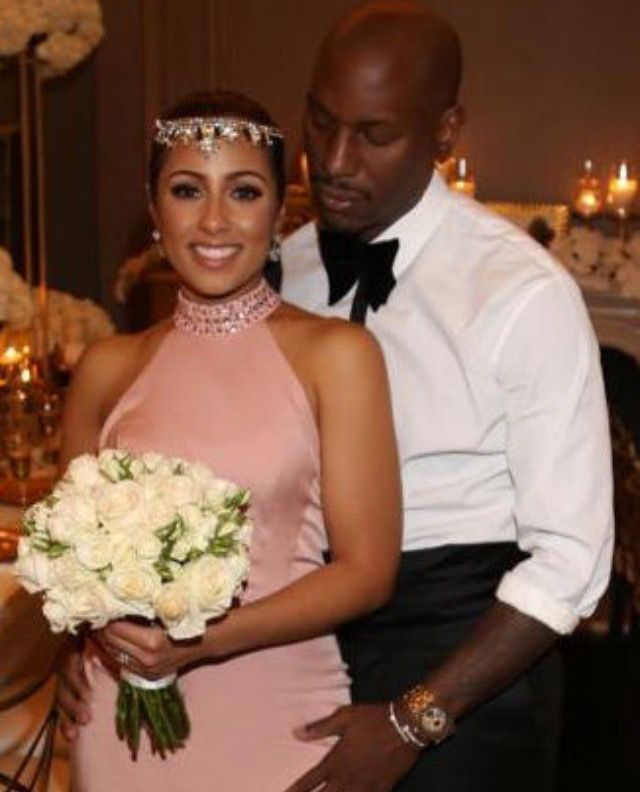 Tyrese Gibson and new wife Samantha Lee! #Gorgeous