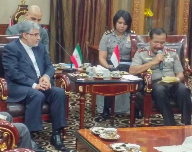 Kunjungan Kedubes Iran Diterima Oleh Kapolri dan Pejabat Utama