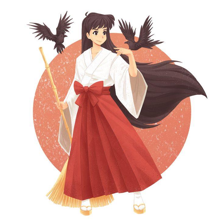 Hino Rei, shinto shrine priestess | Sailor Mars/Rei Hino ...
