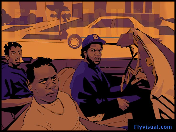 Boyz n da hood black art and images that are powerful - Hood cartoon wallpaper ...