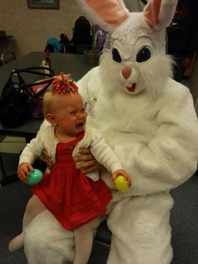 20 Easter Bunnies Who Are Scaring Kids