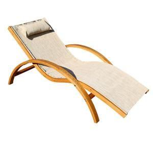 leisure season sling patio lounge chair