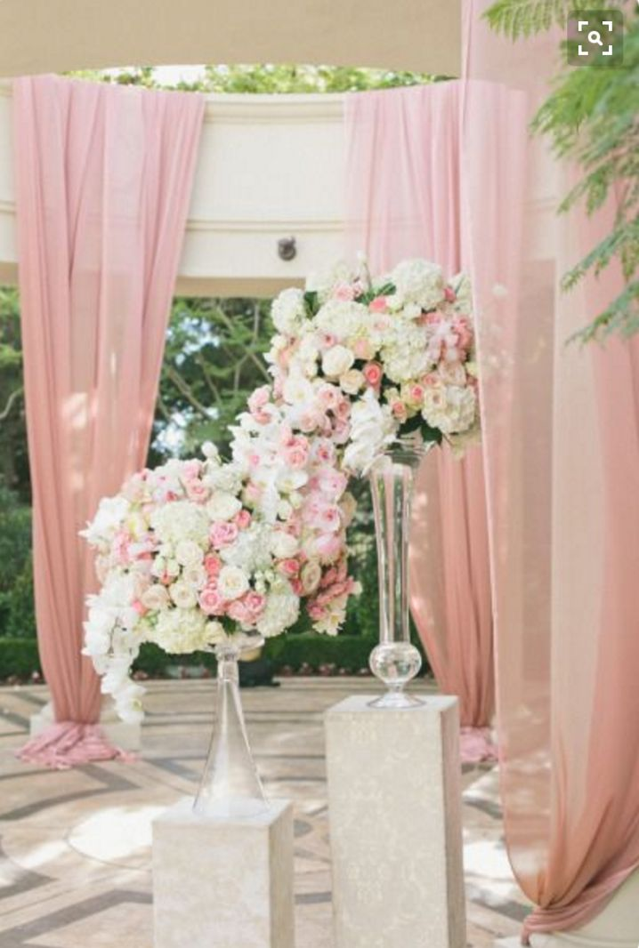 Decor & curtains ideas for Wedding Reception