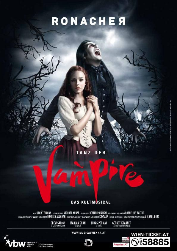 vampire posters | TANZ DER VAMPIRE Poster A2