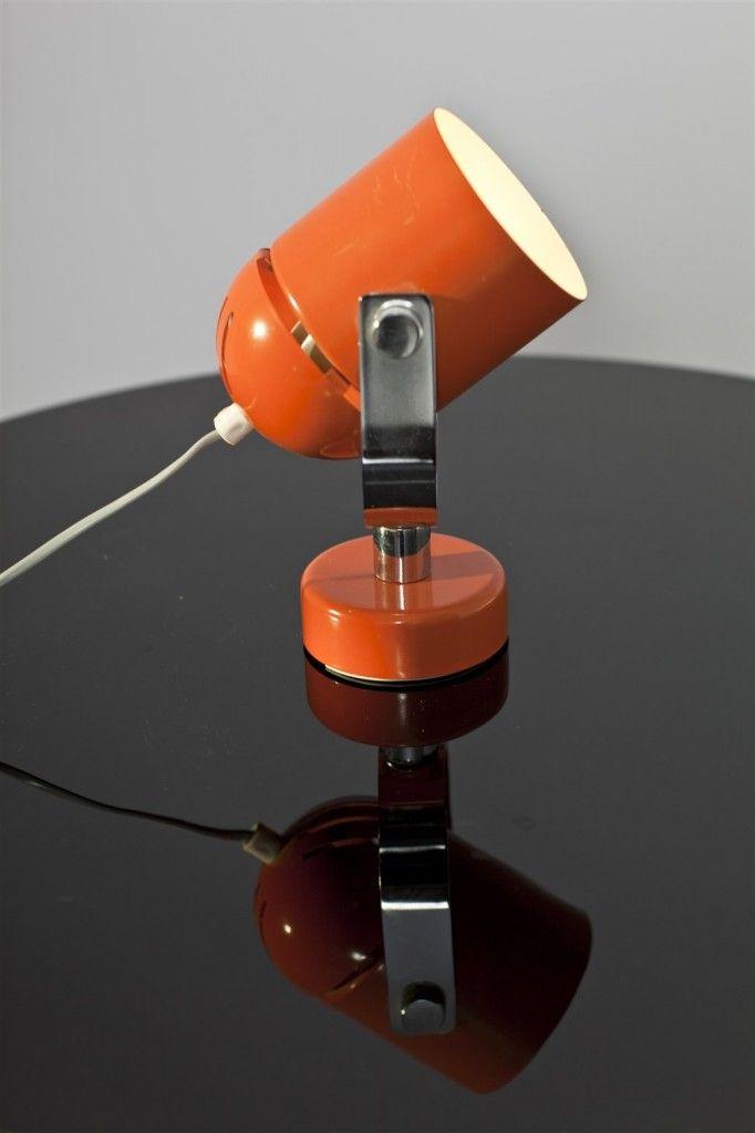 SOLD #vintage #vintagefinds #vintageshop #wyrobki #lamp #light #retro #design #indra #midcenturymodern #home #decor #orange