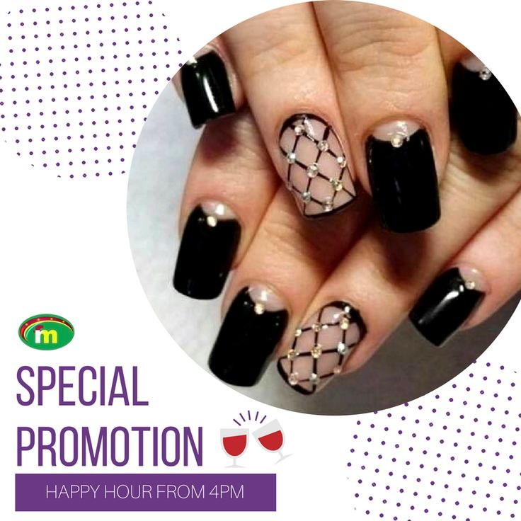 Do you know that the Happiest girls always have the prettiest nails?  It's Wednesdays and time for our Happy hour Visit us and get your nails done, we have a special promotion for today!   We are at 2930 Westchester Avenue Bronx NY 10461 #FootCare #NailsSalon #NY #NailsSalonNY #Pedicure #Manicure #BeautyInHands #NewYork