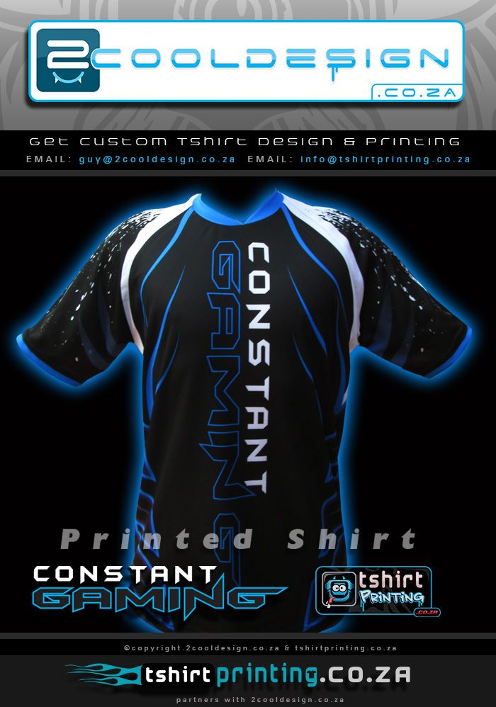 Awesome Gamer Shirt Printing by http://tshirtprinting.co.za/t-shirtprinting/gamer-shirts/