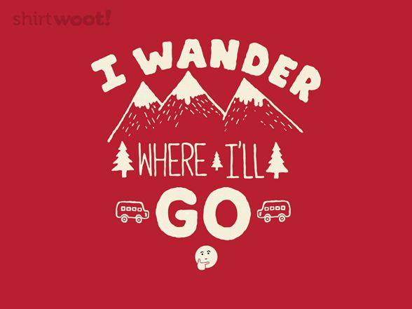 I Wander