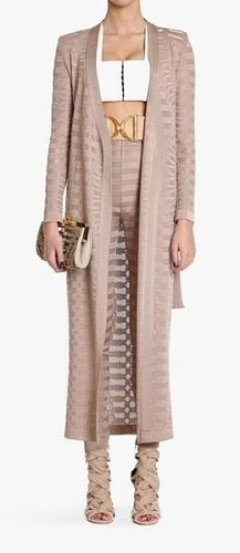 Avah Nude Cardigan & Leggings Two Piece Set