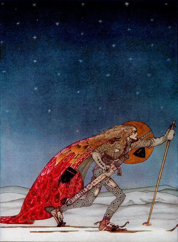 I remember seeing this for the first time. I was in LA and I was 15 years old. I still love it. It's by Kay Nielsen
